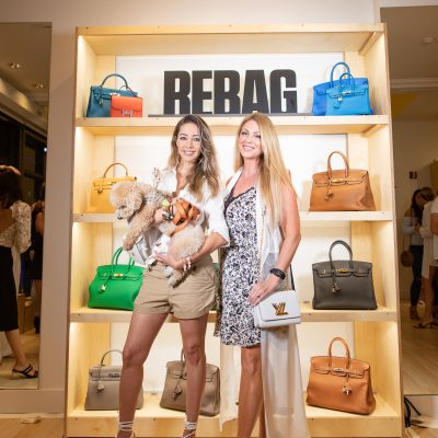 Influencers attend the Launch party for Rebag Miami #rebagmiami