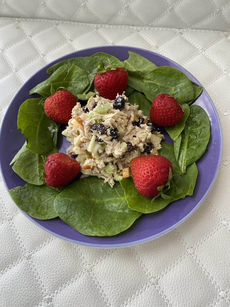 summer salads, chicken salad, fresh chicken salad, homemade chicken salad
