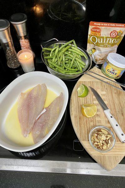 easy fish dinner